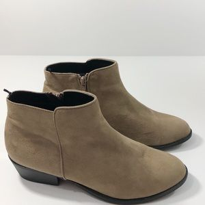 H&M Suede Ankle Boots || 40 ||